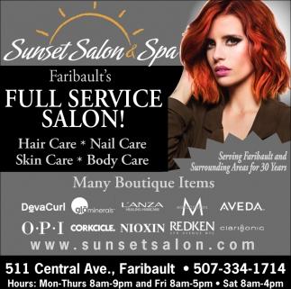 Full Service Salon