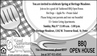 You are invited to celebrate Spring at Heritage Meadows