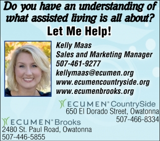 Kelly Maas Sales and Marketing Manager