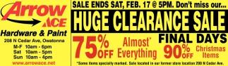 6996c077b8e18a Huge Clearance Sale Final Days 75% off