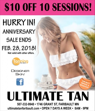 $10 off 10 sessions!