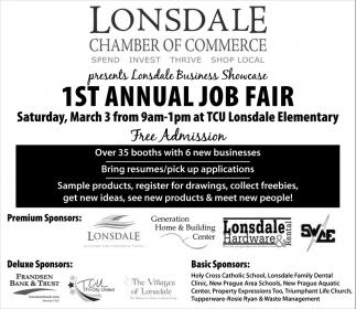 1st Annual Job Fair