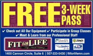 FREE 3-Week Pass