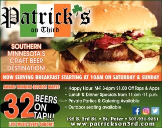 Southern Minnesota's Craf Beer destination!