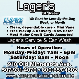 Lager's Service & Car Wash
