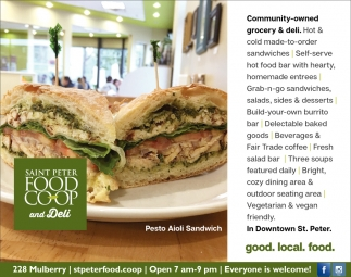 Community owned grocery & deli