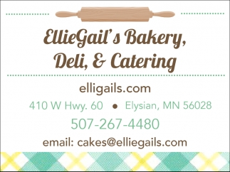 Catering, Bakery, and Deli, EllieGail's Bakery, Deli, & Catering