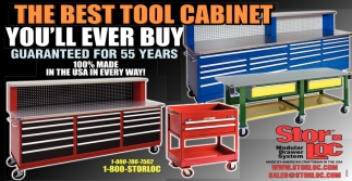 The Best Tool Cabinet, Stor-Loc Modular Drawer Systems