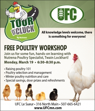 Free Poultry Workshop