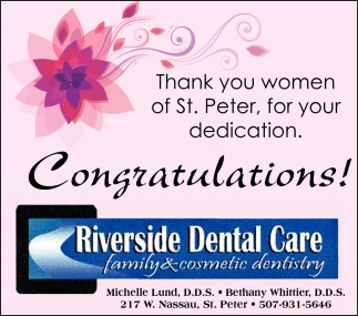 Thank you women of St. Peter, for your dedication