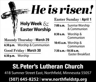 Holy Week & Easter Worship