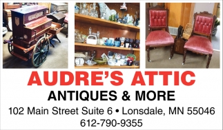 Antiques & More, Audre's Attic , Lonsdale, MN