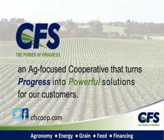Agronomy, Energy, Grain, Feed, Financing