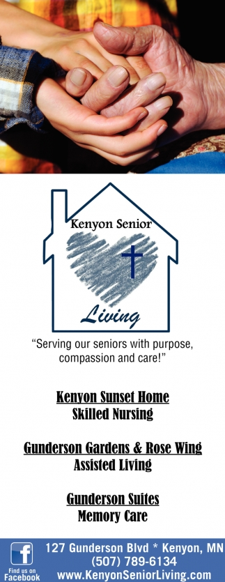 Skilled Nursing, Assisted Living, Memory Care, Kenyon Senior Living, Kenyon, MN