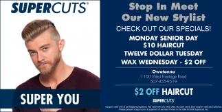 2 Off Haircut Super Cuts Mankato Mn
