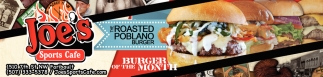 The Roasted Poblano Burger