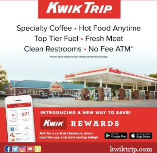 Kwik Rewards, Kwik Trip, Faribault, MN
