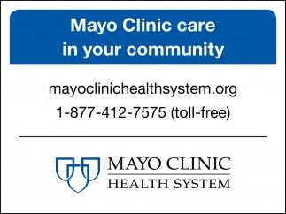 Mayo Clinic care in your community, Mankato - Mayo Clinic