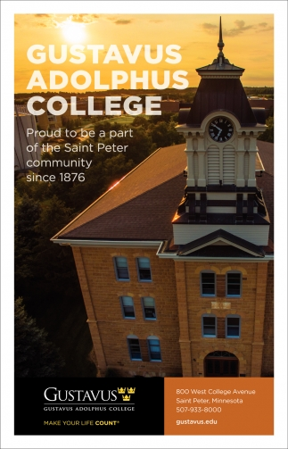 Residential liberal arts college firmly rooted in its Swedish and Lutheran heritage