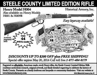 STEELE COUNTY LIMITED EDITION RIFLE