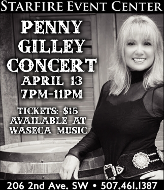 Penny Gilley Concert
