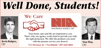 Serving the Northfield Area for more than 60 years!