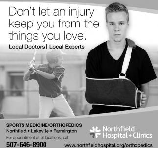 Sports Medicine, Orthopedics