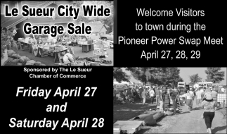 Le Sueur City Wide Garage Sale