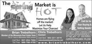 The Spring Market is Hot, RE/MAX Advantage Plus: Brian Trebelhorn, MN