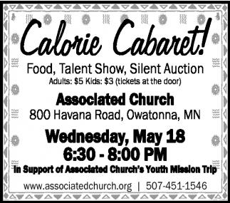 Calorie Cabaret!