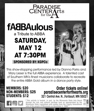 Fabbaulous a Tribute to ABBA