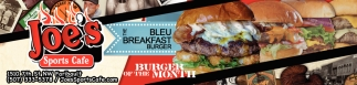 The Bleu Breakfast Burger