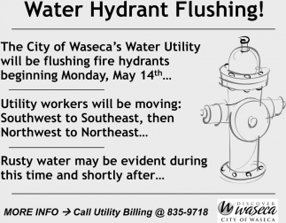 Water Hydrant Flushing