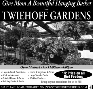 Hanging Baskets are here!