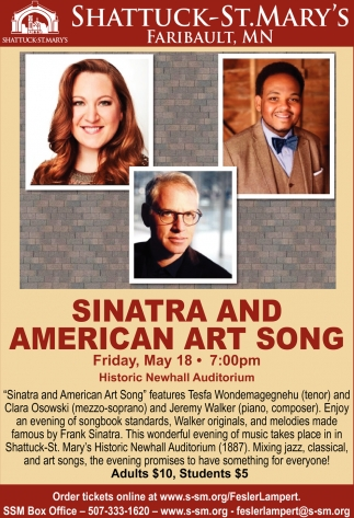 Sinatra and American Art Song