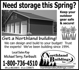 Michael Terry, Faribault, Northland Buildings, Eau Claire, WI
