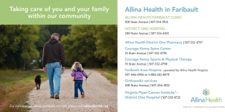 Taking care of you and your family within our community