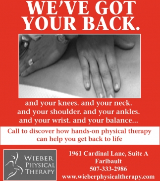 Helping You Get Back To Life