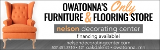 Furniture Flooring Store Owatonna, Nelson Decorating Center, Owatonna, MN