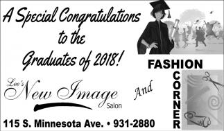 Congratulations to the Graduates of 2018