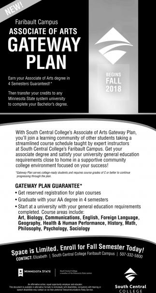 Faribault Campus Gateway Plan
