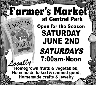 Fruits & Vegetables. Baked & canned good, crafts & jewelry, Faribault Farmers Market, Faribault, MN