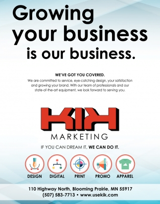 Growing your business is our business