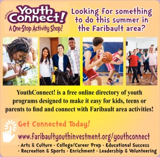 Youth Programs, Faribault Youth Investment, Faribault, MN