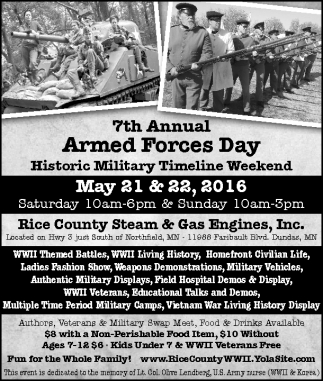 7th Annual Armed Forces Day