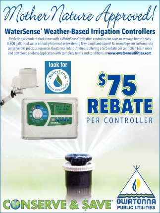 WaterSense Weather Based Irrigation Controllers