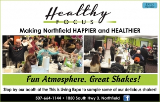 Making Northfield Happier and Healthier, Healthy Focus, Northfield, MN