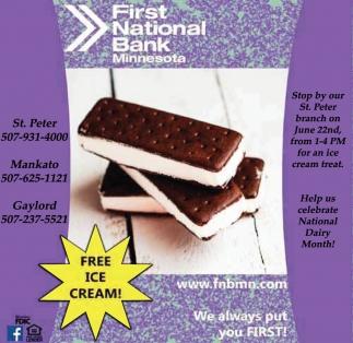 Free Ice Cream!!!