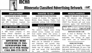 Minnesota Classified Advertising Network