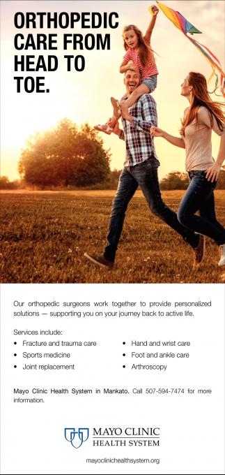Orthopedic Care